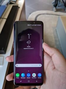 Samsung Galaxy S9 with box & accessories