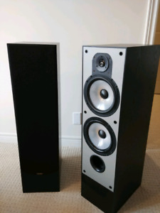 Paradigm speakers with surround & Yamaha amplifier.