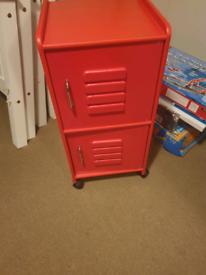 Kid kraft Locker cupboard red