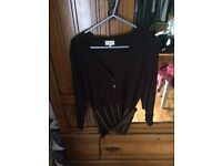Karen Millen Brown jumper 3