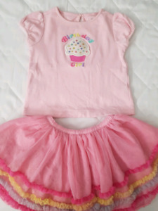 Gymboree birthday outfit 2t