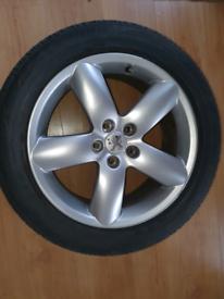 Alloy wheel peugeot/ citroen 5 stud