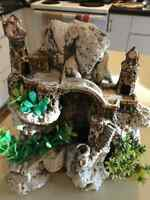 Great Fish Tank Castle Decoration For Sale