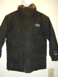 BOY'S BLACK SIZE 7/8 THE NORTH FACE COAT