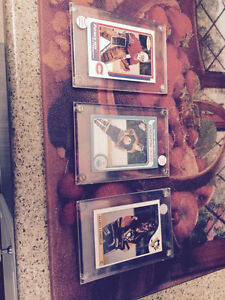 FOR SALE!!! Gretzky, Lemieux and Roy rookie cards