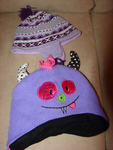 size 4 Girls Coats, poncho's hats and mitt lots