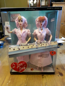 I LOVE LUCY Barbie Collection