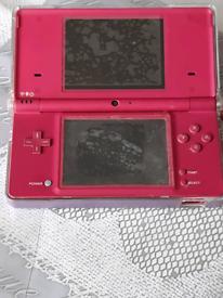 Nintendo ds pink & games