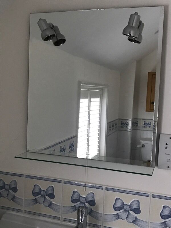 Bathroom Mirrors Gumtree bathroom mirror | in watlington, oxfordshire | gumtree