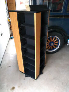 Rotating CD / DVD Stand Excellent Condition $50