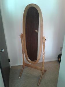 Oval Swing Mirror