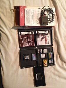 Nintendo DS Lite (red) 10/10 condition with 8 games Kitchener / Waterloo Kitchener Area image 4