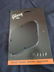 Genuine Gibson Les Paul Rear  Electronic back plate.