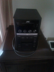 Jvc mini sterio with speakers