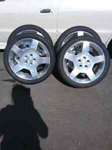 Cobalt wheels and Tires