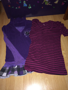 Girls size 8/10 Tops
