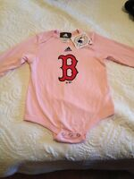 New with tags Boston Red Sox Pink onesie