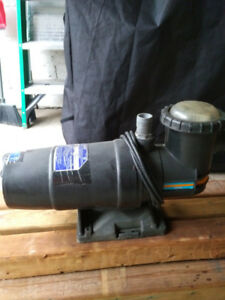 Jacuzzi Water Pump (above ground pool)