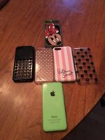iPhone 5c 32Gb Green locked to Rogers