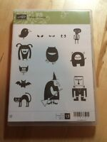 Stampin Up Stamp Set - Freaky Friends (Clear)