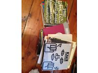 Lot of 105 indie +punk 45's £30