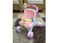 Fisher price first pushchair/ walker