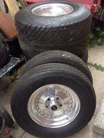 Mickey Thompson Sportsman S/R Dot tire & Weld Racing wheel set