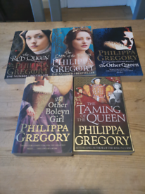 Philippa Gregory books x 5