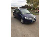 Vauxhall Zafira design cheap family car automatic low mileage