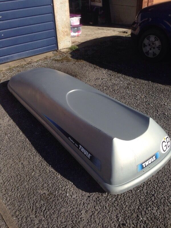 thule alpine 700 roof box in clevedon somerset gumtree. Black Bedroom Furniture Sets. Home Design Ideas