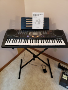 Casio CTK-541 Portable Keyboard and X-Stand