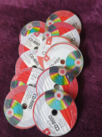 10 packets blank CDs