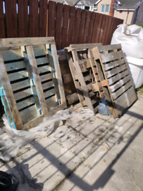 Free wood pallets 6