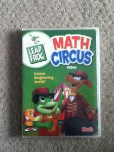 NEW in package Leap Frog Math Circus DVD