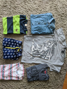T-shirt Hollister Lacoste Levi's Jack and johns