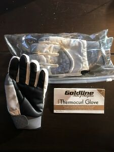 Curling Gloves - Goldline Thermocurl Ladies Small
