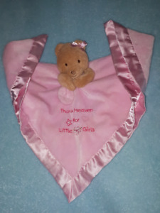 Thank Heaven For Little Girls,Baby Security Blanket Bear Toy