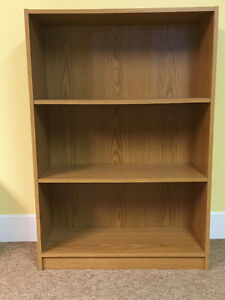 Two 3 Shelf Bookcases