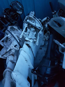 85hp force boat motor