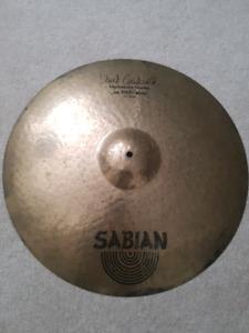 """22"""" Sabian HH Jam Master Ride"""