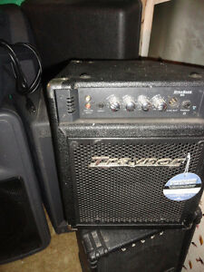 DIVORCE SALE...Various amps ...mics speakers all the goodies
