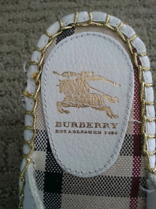 AUTHENTIC NEW BURBERRY WEDGE SHOES - NEW - $125..00