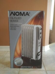Noma Electric Oil Filled Heater