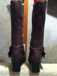 Women's Faith Leather Tall Boots Size 6.5 London Ontario image 2