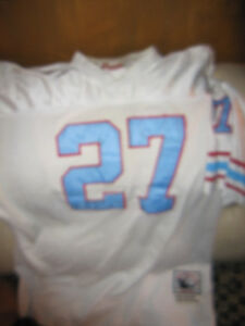 Houston Oilers Football Team Jersey Mitchell And Ness Rare