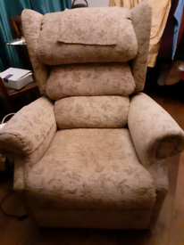 Lift and Recline Powered Armchair