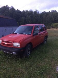 2001 Chevy Tracker for sale