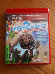 Little big planet ps3 game
