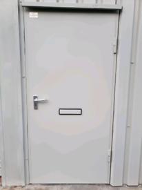 Security steel fire proof doors