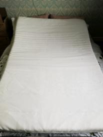 Tussoy Ikea double mattress topper (memory foam)